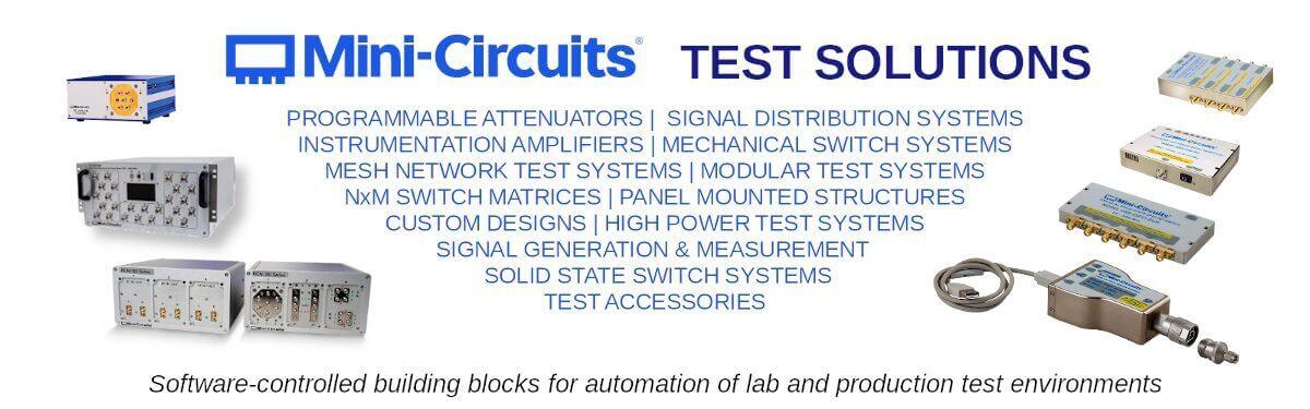 Mini-Circuits RF Test Solutions